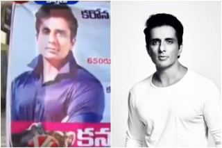 Vegetarian Sonu Sood Picture Features on a Mutton Shop And His Hilarious Response Will Make You Love Him Even More
