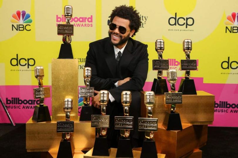 The Weeknd Wins Big Tonight, Takes Home 10 Awards