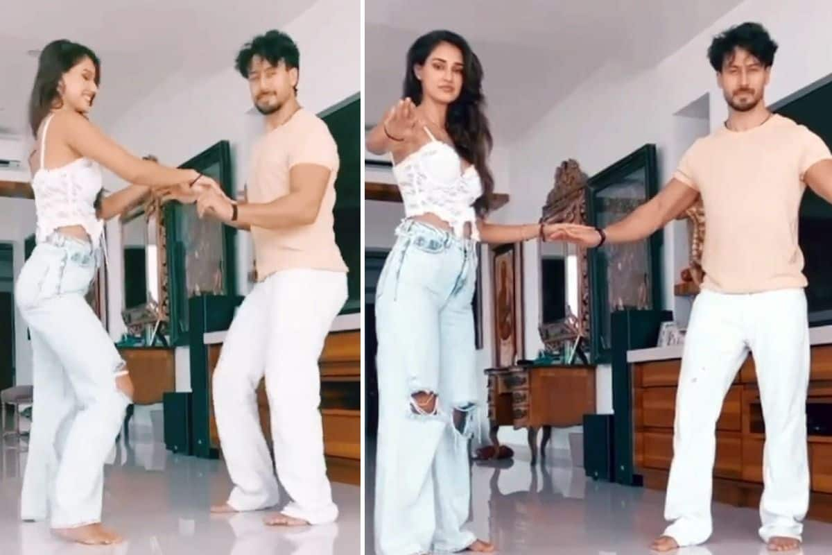 Tiger Shroff Shares Birthday Dance Post For Disha Patani, Krishna Shroff And Her Comments Are Unmissable