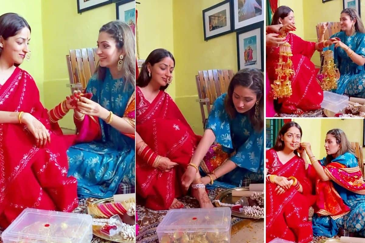 Yami Gautam Shares Her Wedding Video From Chooda Ceremony With Sister Surilie Gautam Watch Video