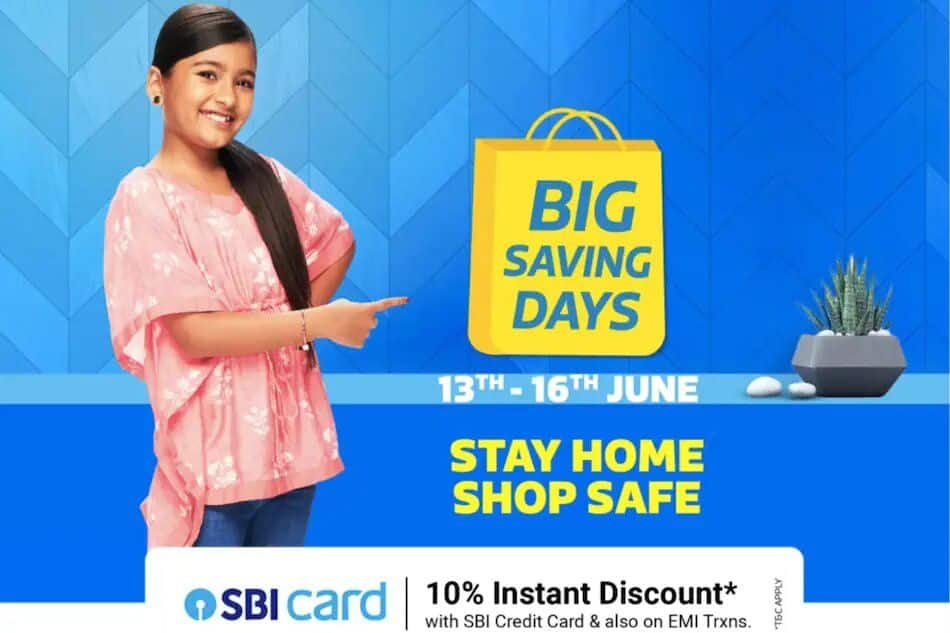 Flipkart Big Saving Days Sale To Begin on June 13, Check Exciting Deals To Watch Out For