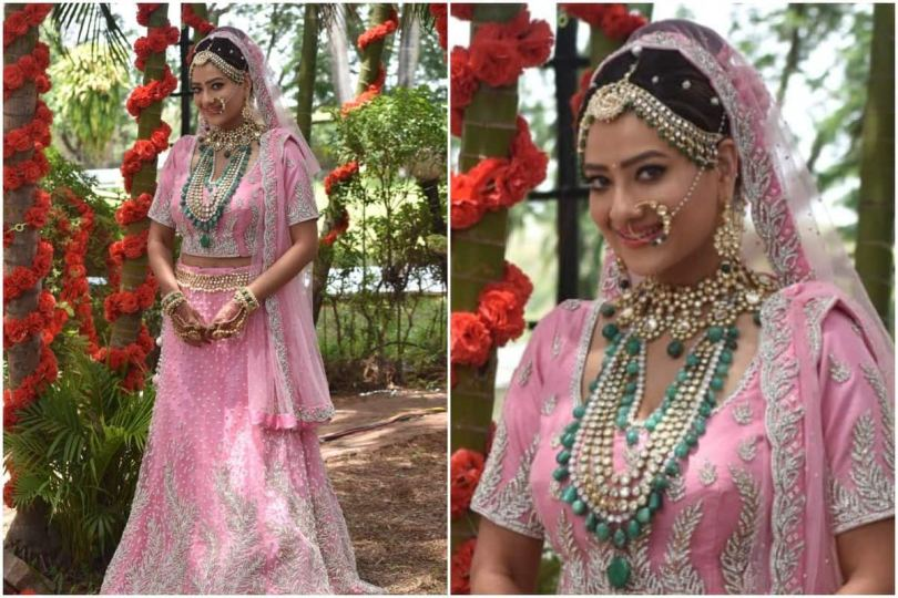 Kavya Aka Madalsa Sharma Wears 10-Kilos Heavy Lehenga For Wedding Scene, Says It Was A Challenge To Carry