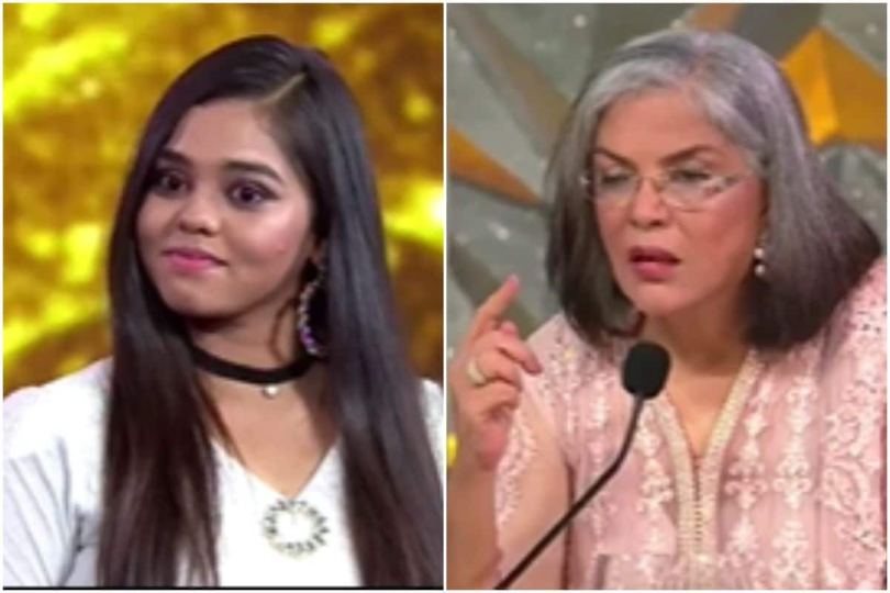 Indain Idol 12 – Zeenat Aman Suggests Shanmukha Not To Take Criticism To Heart, Asks Her To Ignore, Ignore and Ignore