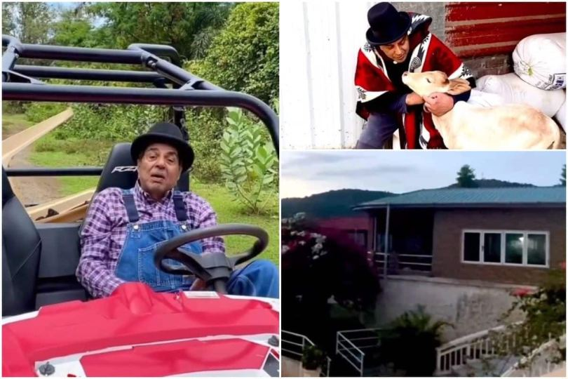 Inside Dharmendra Lonavala Farmhouse | Quad Bike, Giant Swimming Pool With Peace And Greenery All Over