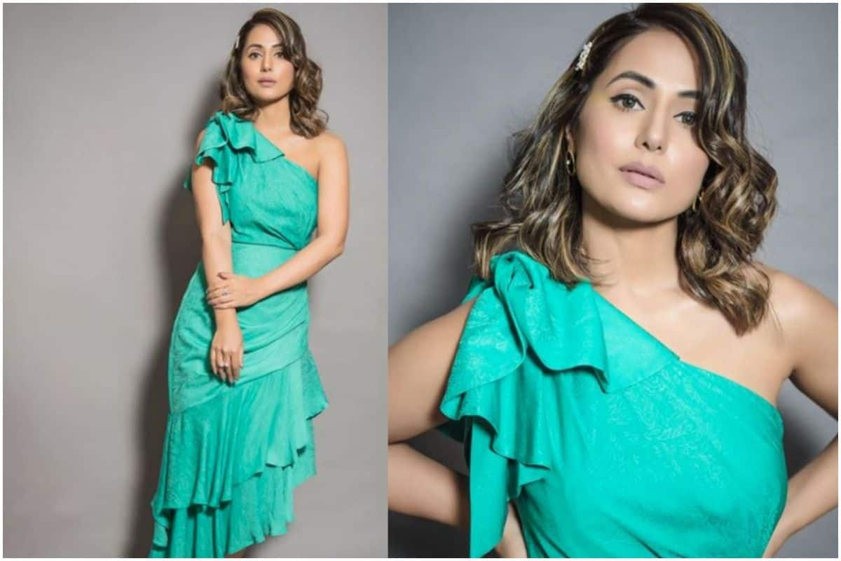 Hina Khan Green Ruffle Dress Is Quite Affordable That Even You Can Buy, Check Price