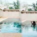 Rhea Kapoor Takes a Dip In The Pool In Sexy Black Bikini Along With BFF Masaba Gupta   See Pics 💥👩👩💥
