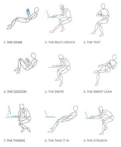 Gesture chair GRAPHIC