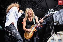 Whitesnake in concert Rock The City, Bucuresti (3.07.2011 / Foto: infomusic.ro)