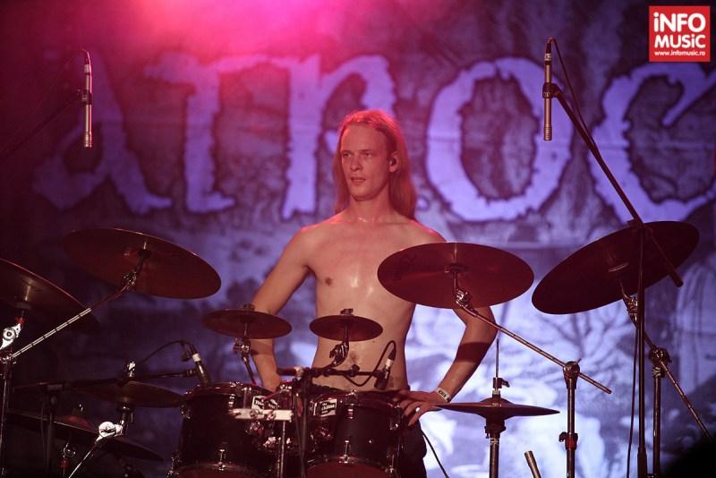 Atrocity în concert la Maximum Rock Festival pe 25 octombrie 2013 la Turbohalle