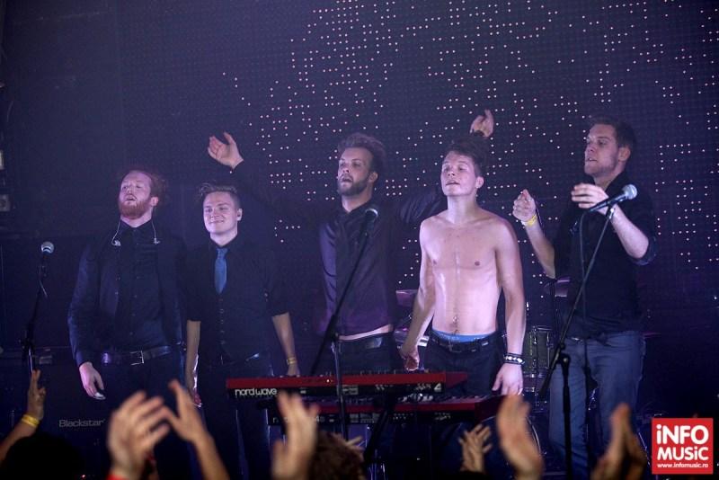 Poze Leprous în concert la Silver Church București pe 21 octombrie 2013