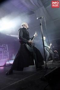 Samael în concert la Maximum Rock Festival pe 25 octombrie 2013 la Turbohalle