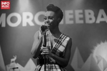Solista Skye Edwards, Morcheeba in concert la Arenele Romane din Bucuresti pe 11 decembrie 2013