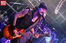 Jon Schaffer cu Iced Earth în concert la Bucuresti pe 28 ianuarie 2014