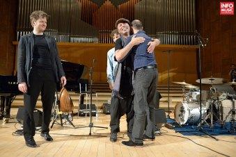 Dhafer Youssef în concert la Sala Radio pe 10 aprilie 2014, alături de Kristjan Randalu, Phil Donkin și Ferenc Nemeth