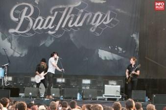 Trupa Bad Things a deschis concertul Thirty Seconds To Mars de la București