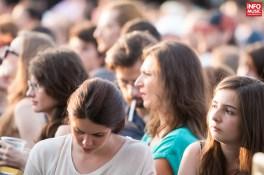 Spectatori la concertul Thirty Seconds to Mars de la Bucuresti - 5 iulie 2014