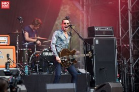 Concert Miles Kane la Summer Well 2014