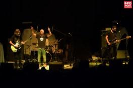 OCS în deschiderea concertului Jack White la Bucuresti 2014