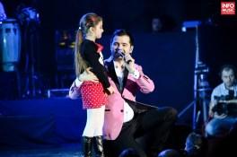 Laurențiu Duță și fiica sa în concertul 3 Sud Est de la Sala Palatului de pe 5 martie 2015