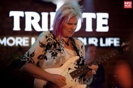 Jennifer Batten în concert la Bucuresti pe 26 martie 2015