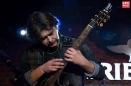 Nazzareno Zacconi alături de Jennifer Batten în concert la Bucuresti pe 26 martie 2015