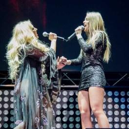 Delia și sora sa în concert la Sala Palatului