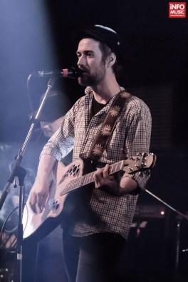 Daniel Rocca în concertul FIRMA din Club Control din Bucuresti pe 2 aprilie 2015
