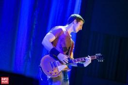 Troope a deschis concertul Yngwie Malmsteen de la Sala Palatului din Bucuresti pe 13 mai 2015