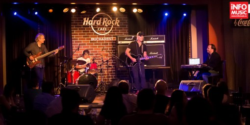 Concert Jan Akkerman pe 20 august 2015 în Hard Rock Cafe
