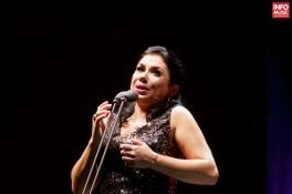 Soprana Nataliya Kovalova alături de José Carreras în concert la Romexpo pe 26 noiembrie 2015