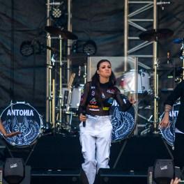 Concert Antonia în Piața Constituției din București pe 5 iunie 2016