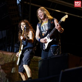 Concert Iron Maiden la Rock The City 2016