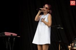 Concert Oh Land in Piata Constitutiei 2016