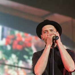 Jurjak în cadrul concertului Holograf la Sala Palatului pe 20 martie 2017