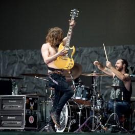 Monster Truck în deschiderea concertului Deep Purple la Romexpo București pe 13 mai 2017