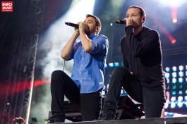Linkin Park în concert la București pe 6 iunie 2012