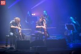 Luka Sulic și Stjepan Hauser în concert la Sala Palatului (5 decembrie 2017)