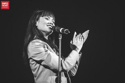 Irina Rimes în deschiderea concertului Caro Emerald (28.02.2018)