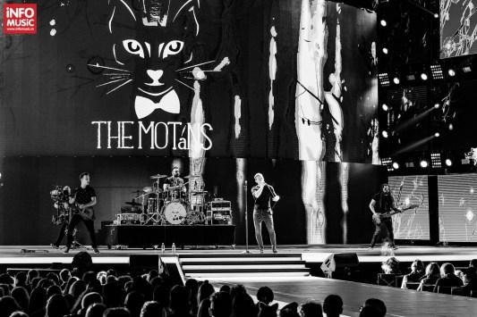 Trupa The Motans la Cerbul de Aur pe 1 septembrie 2018