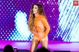 Eleni Foureira în concert la Cerbul de Aur pe 1 septembrie 2018