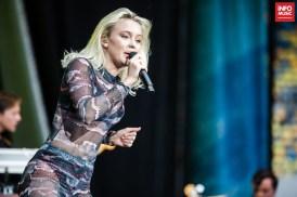 Zara Larsson a deschis concertul Ed Sheeran de la Arena Națională pe 3 iulie 2019