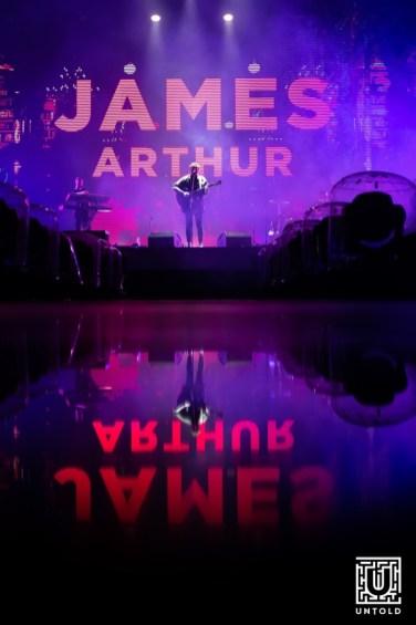 UNTOLD 2019 - James Arthur / Prima zi