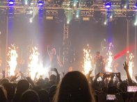 Hollywood Undead in concert la Arenele Romane