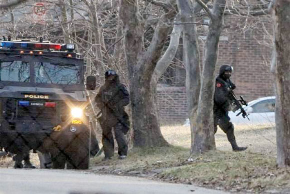 SWAT Attacks Home School Mom for Refusing to Force Med Child copsdetroit