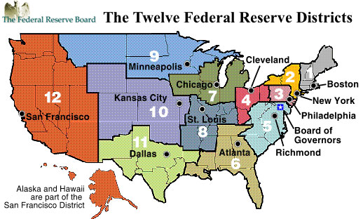 Federal Reserve locations