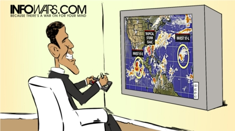 Could Hurricane Sandy be Weather Modification at Work? obamaweatherthumb