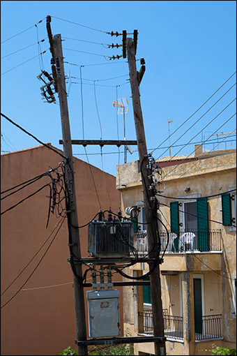 After years of recession, Greeks cannot even afford electricity. Credit: russavia via Wiki