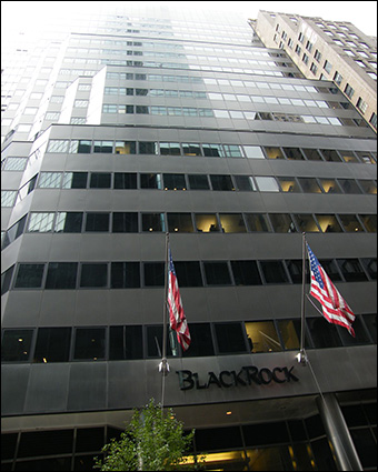Larry Fink and Robert S. Kapito founded the BlackRock investment management firm in 1988. Credit: Americasroof via Wiki