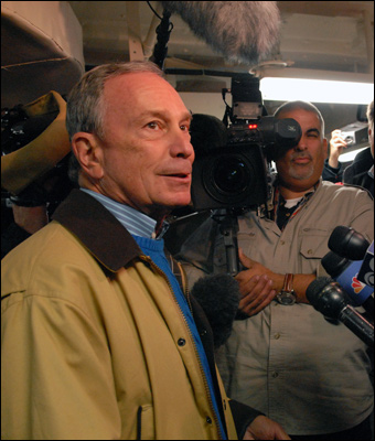 Former New York Mayor Michael Bloomberg routinely uses mass media to propagate his agenda.