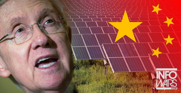 Corrupt Democratic Sen. Harry Reid (D-Nev.) working with the Chinese gov't to take land from hard-working Americans.